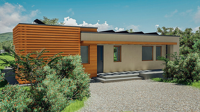 Resilient Plan B Passive off grid Home