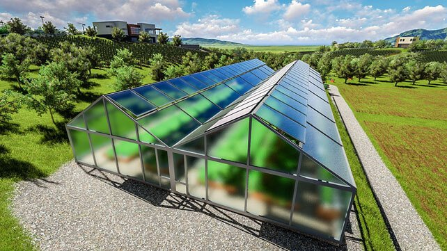 Resilient farm greenhouse